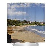 Wailea Beach Shower Curtain