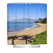 Wailea, Ulua Beach Shower Curtain