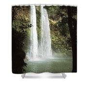 Wailua Falls 3 Shower Curtain