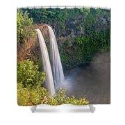 Wailua Falls - Kauai Hawaii Shower Curtain