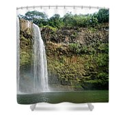 Wailua Falls0 919 Shower Curtain