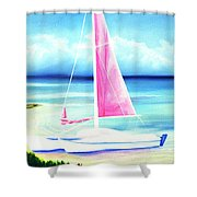 Waimanalo Beach #187 Shower Curtain