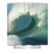 Waimea Bay Shorebreak Shower Curtain