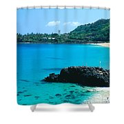 Waimea Bay Shower Curtain