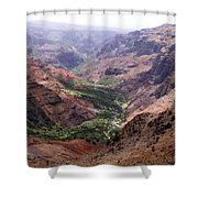 Waimea Canyon 1 Shower Curtain