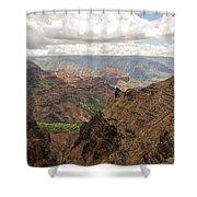 Waimea Canyon 4 Shower Curtain