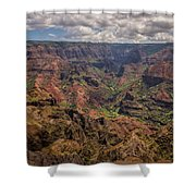 Waimea Canyon 7 - Kauai Hawaii Shower Curtain