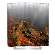 Waimea Canyon I Shower Curtain