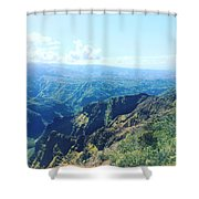 Waimea Canyon, Kauai Shower Curtain