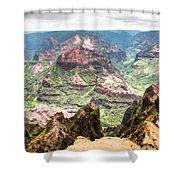 Waimea  Canyon Splendor,  Shower Curtain