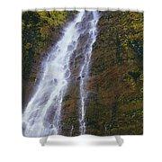 Waimoku Falls Shower Curtain