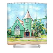 Wai'oli Hui'ia Church Shower Curtain