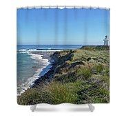 Waipapa Point Shower Curtain