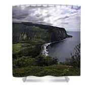 Waipio Bay Shower Curtain