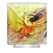 Wait Upon The Lord Shower Curtain
