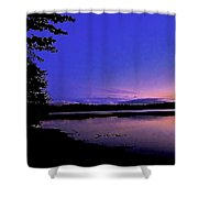 Waiting At The Edge Of Paradise Shower Curtain