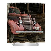 Waiting For Harvest Time Shower Curtain