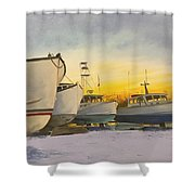 Waiting For Summer Shower Curtain