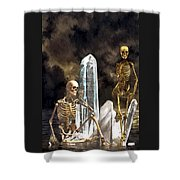 Waiting For The Carpathia Shower Curtain