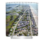 Waiting For You Topsail Island Shower Curtain