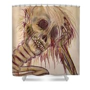 Waiting Forever...... Shower Curtain