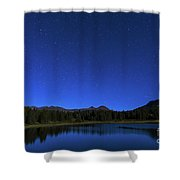 Waiting On Meteors Shower Curtain
