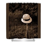 Waiting On You To Come Home Shower Curtain