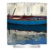Waiting To Go Fishing Shower Curtain