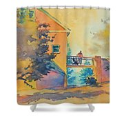 Waiting Until The Evening Comes Shower Curtain