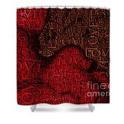 Waiting With Love Shower Curtain