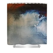 Waives Shower Curtain