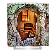 Wake Up And Smell The Misery Shower Curtain