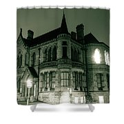 Waldorf College, The Centre For Science And Arts By Night Stround Gloucestershire Shower Curtain