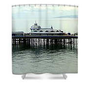 Wales Boardwalk Shower Curtain