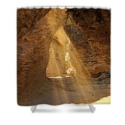 Walk Among The Brave Shower Curtain