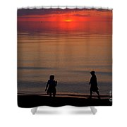 Walk Back To The Bend 2 Shower Curtain