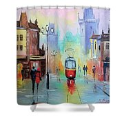 Walk In Prague Shower Curtain