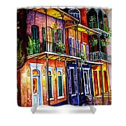 Walk Into The French Quarter Shower Curtain