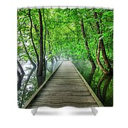 Walk Into The Mist Shower Curtain