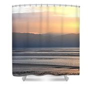 Walk On The Beach Shower Curtain