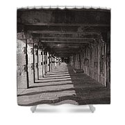 Walk Way - Belur Shower Curtain
