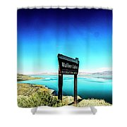 Walker Lake Shower Curtain