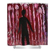 Walking Away Shower Curtain