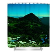 Walking In The Cascades Shower Curtain