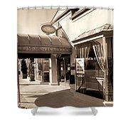 Walking Madison Shower Curtain by William Dey