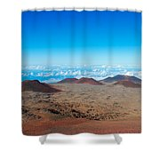 Walking On The Moon Shower Curtain