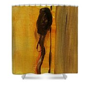 Walking Stick And Hat Shower Curtain