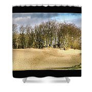 Walking To The Trees Shower Curtain