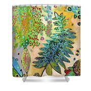 Walking With The Forest Spirits Part 2 Shower Curtain