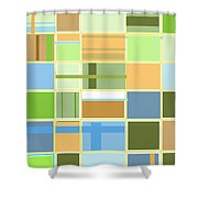 We Are Connected  Shower Curtain